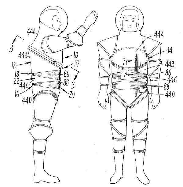 space suit drawing - photo #47